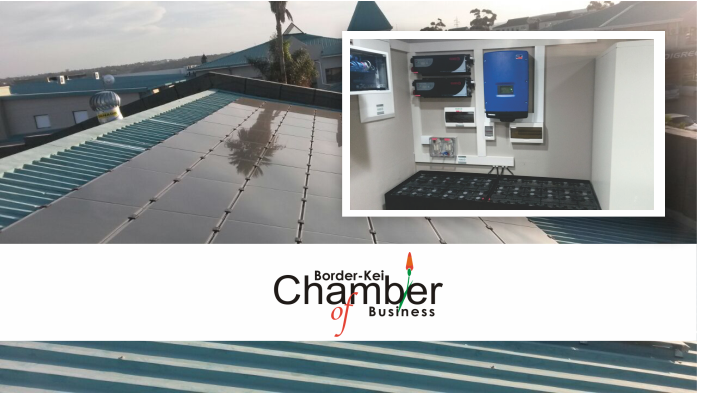 Greening Chamber offices – Border-Kei Chamber of Business