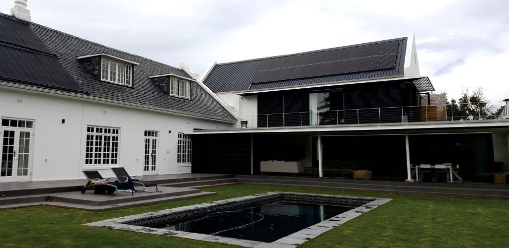 Solar Panel installation n Bergvliet