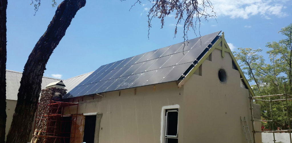 Ellies Project - Solar Panel installation on a residential house